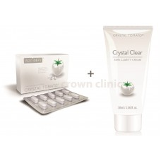Crystal Tomato Plus + Crystal Clear Clarity Cream (Combo Set)