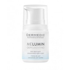 Dermedic Melumin Depigmenting Anti-Darkspots Night Cream SPF50+ 55G