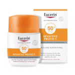 Eucerin Sensitive Protect Sun Fluid Mattifying SPF50+ 50ML