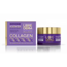 Librederm Anti-Aging Collagen Day Cream for Face, Neck and Decollete SPF15 50ML