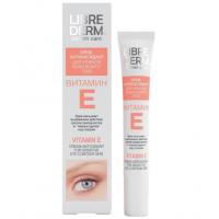 Librederm Vitamin E Cream-Antioxidant for Sensitive Eye Contour Skin 20ML