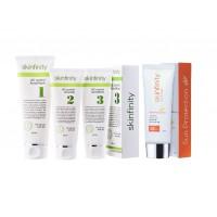 Skinfinity Ac Control Set + Sunblock ( 4 STEPS)
