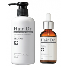 Hair Dr. Follicle Shampoo + Serum Combo Set